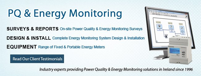 Power Quality & Energy Monitoring Specialists in Ireland - Testimonials