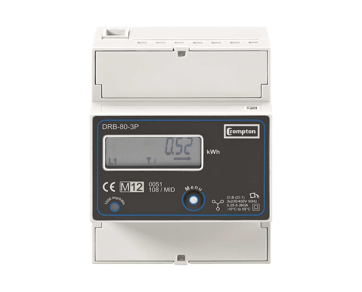 DRB Energy-Meters Three-Phase 80-3P