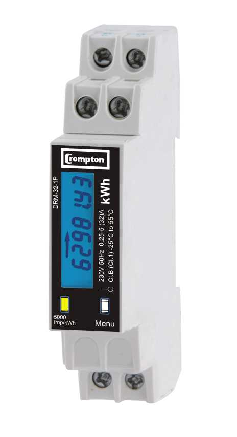 DRM Energy-Meters Single-Phase 32 -1P