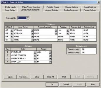 SATEC PAS (Power Analysis Software) Gallery Image