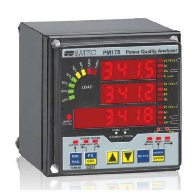 SATEC PM175 Power Quality Analyzer