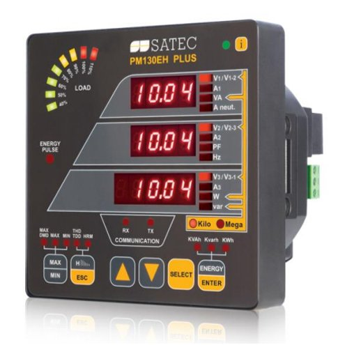 SATEC PM130 PLUS High Performance Powermeter