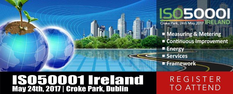 Register for ISO50001 Ireland 2017Register for ISO50001 Ireland 2017