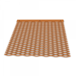 Copper lattices and grids